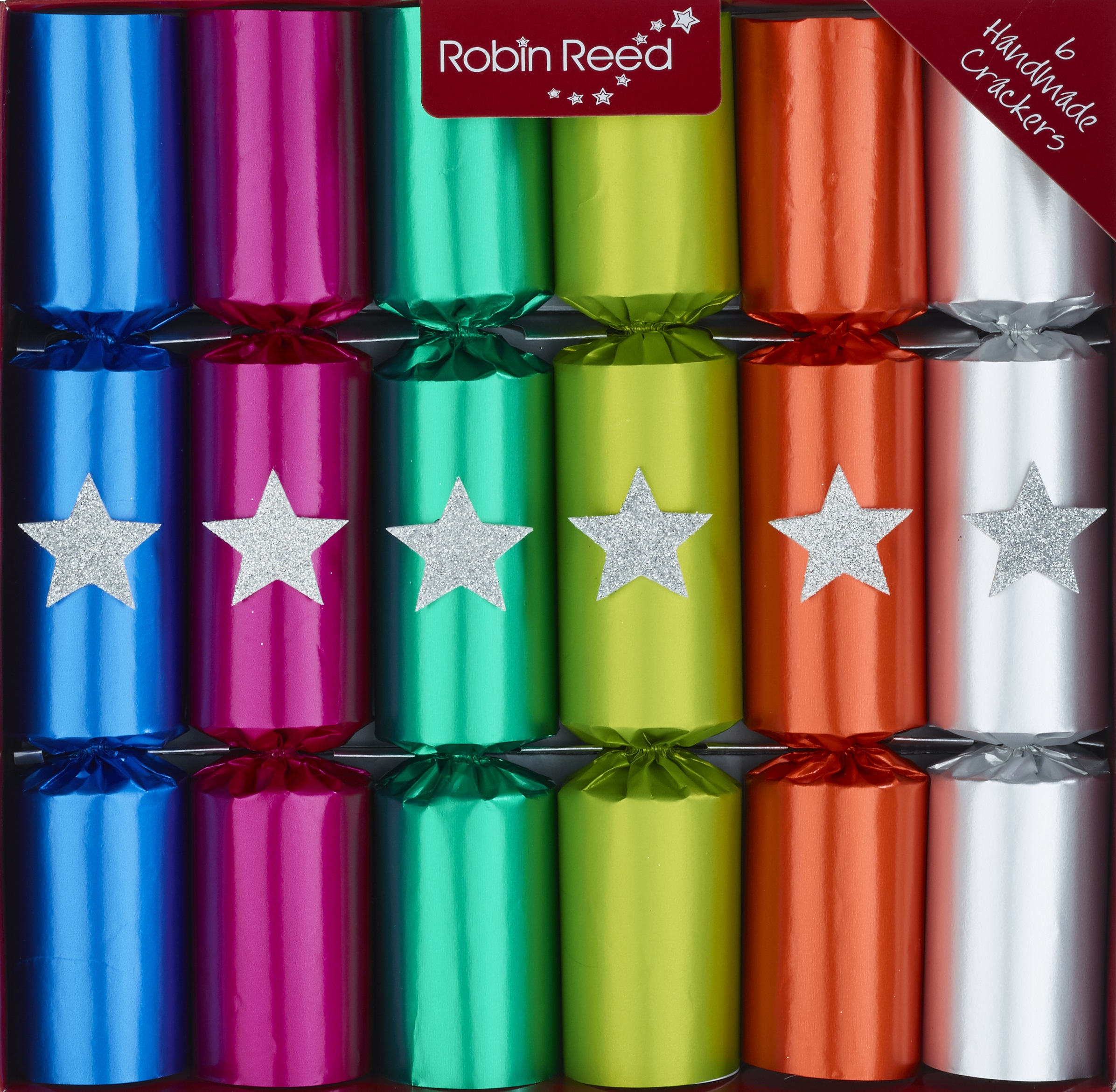 Picture of Christmas Crackers - 6 Fun Christmas Crackers - Who am I