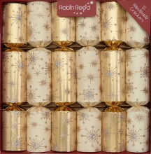 Picture of Christmas Crackers - 12 classic Christmas Crackers - Sparkler
